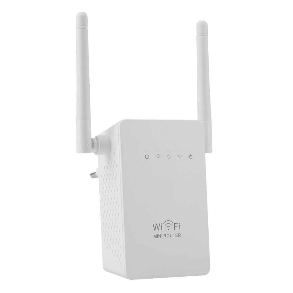 Wireless Wifi Range Extender Amplifier 300mbps White Kextech N Repeater Wl0189 1
