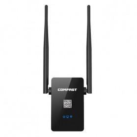 Comfast WiFi Range Extender Amplifier 300Mbps 10dbi - CF-WR302S - Black - 4