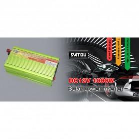 Datou SUNCHONGLIC Solar Car Power Inverter DC 12V to AC 230V 1000W - FA-1000A - Green