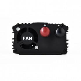 Taffware Rectangle Car Power Inverter DC 24 Volts to AC 220V 2000Watt - PI2000 - Black - 6