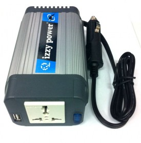 IZZY POWER DC to AC Car Inverter HT-E-150-12 150 Watt 12 Volts - with powerful USB power port