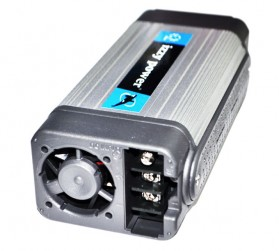 IZZY POWER DC to AC Car Inverter HT-E-350-12 350 Watt 12 Volts (with cigar plug and clip cable) - 2