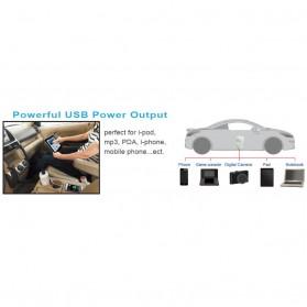 IZZY POWER DC to AC Car Inverter Listrik Mobil HT-M-120C 120 Watt 12 Volts with 3A/5V USB Port - 4