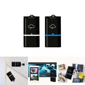 Wireless WiFi Card Reader Micro SD - 4N02254 - Black/Blue - 2