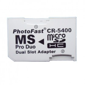 Winfos MS Pro Duo Dual Slot Adapter - White - 2