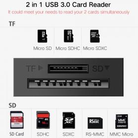 UGreen Card Reader OTG Multifungsi USB 3.0 - 20203 - Black - 2