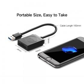 UGreen Card Reader OTG Multifungsi USB 3.0 - 20203 - Black - 6