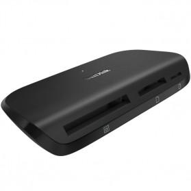 Sandisk ImageMate Pro USB Card Reader 3.0 - SDDR-489 - Black - 4
