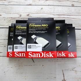 SanDisk Extreme PRO SD Card Reader UHS-II USB 3.0 - SDDR-399 - Black - 3