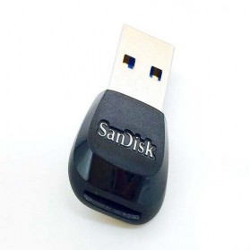 SanDisk MobileMate USB 3.0 Card Reader - SDDR-B531 - Black - 2