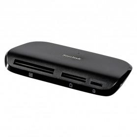 Sandisk ImageMate PRO USB-C Multi-Card Reader/Writer - SDDR-A631 - Black - 2