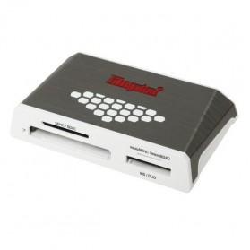 Kingston USB 3.0 High Speed Media Reader - FCR-HS4 - White - 2