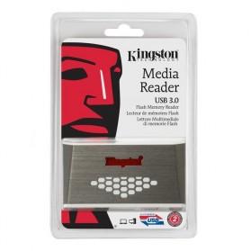 Kingston USB 3.0 High Speed Media Reader - FCR-HS4 - White - 5
