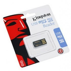 Kingston microSD/SDHC USB Card Reader (FCR-MRG2 ) - Black - 2