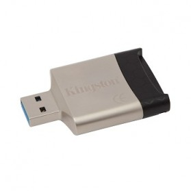 Kingston MobileLite G4 Card Reader USB 3.0 - FCR-MLG4 - Silver - 2