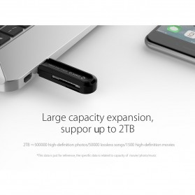 Orico Memory TF/SD Card Reader USB 3.0 - CRS21 - Black - 5