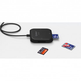 Orico Card Reader USB 3.0 TF SD CF MS - CRS31A-03 - Black - 7