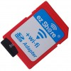EZ Share Wi-Fi microSD Adapter Card Reader Up To 32GB - Red