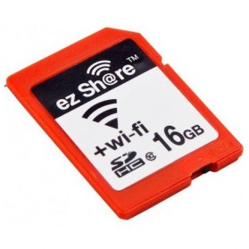 EZ Share Wi-Fi SD Card 16GB - Red