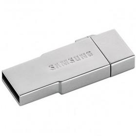 Samsung Metal OTG Card Reader with EVO MicroSDXC 64GB - OEM64GSB01 - Silver