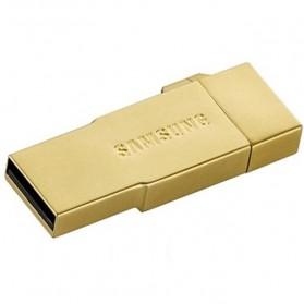 Samsung Metal OTG Card Reader with EVO MicroSDXC 64GB - OEM64GSB01 - Golden