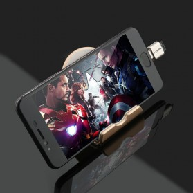 Rocketek Smartphone OTG Card Reader USB Type C Micro SD - TCR-TF1 - Golden - 6