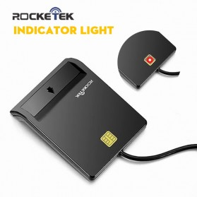 Rocketek CAC Smart Card Reader DOD Military - RT-SCR1 - Black - 2