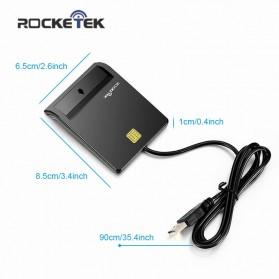 Rocketek CAC Smart Card Reader DOD Military - RT-SCR1 - Black - 3