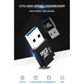 Rocketek Card Reader USB 3.0 Micro SD - RT-CR9A - Black - 2