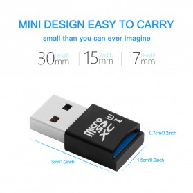 Rocketek Card Reader USB 3.0 Micro SD - RT-CR9A - Black - 8