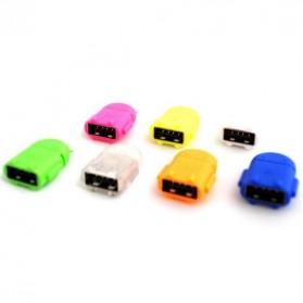 Antirr Micro USB OTG Bentuk Android - NSX761 - Mix Color - 4