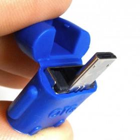 Antirr Micro USB OTG Bentuk Android - NSX761 - Mix Color - 7