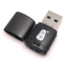 Kawau Mini USB Card Reader for Micro SD - C286 - Black - 2