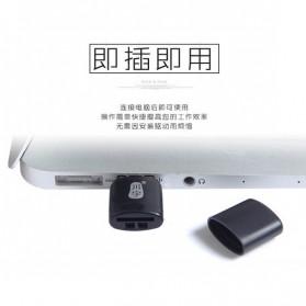 Mini USB Card Reader for Micro SD - Black - 4