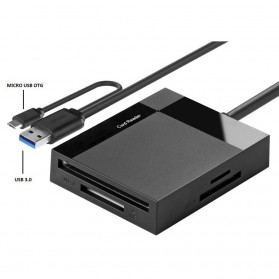 UGreen Card Reader Multifungsi USB 3.0 Dengan Micro USB OTG - Black - 3