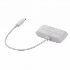 Memory Card Reader Lightning OTG 3 in 1 for iPhone iPad - MERBOK-001 - White - 4