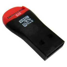 Mobile Mate Micro SD Memory Card Reader - Black - 3