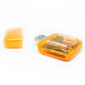 All in One Memory Card Reader CR-9165 - Orange - 3