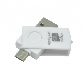 OTG Smart Card Reader Connection Kit - MUO-08 - White - 1
