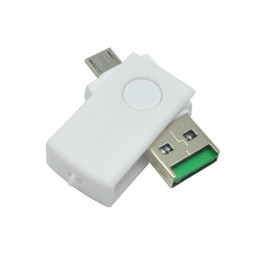 OTG Smart Card Reader Connection Kit - MUO-08 - White - 2