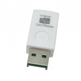 OTG Smart Card Reader Connection Kit - MUO-08 - White - 4