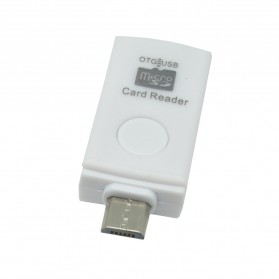 OTG Smart Card Reader Connection Kit - MUO-08 - White - 5