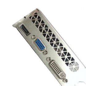 NVIDIA VGA Graphic Card GTX 750 Ti 2GB DDR5 128Bit with Dual Fan (Replika 1:1) - Black - 2