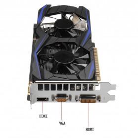 NVIDIA VGA Graphic Card GTX 750 Ti 2GB DDR5 128Bit with Dual Fan (Replika 1:1) - Black - 5