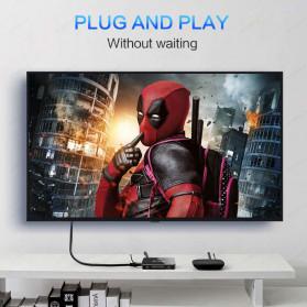 FSU HDMI Switcher 4 Port HDMI 2.0 4K HDR with Remote - SWI41-A - Black - 5