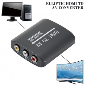 ONLENY Konverter Video HDMI ke AV - WL1345 - Black