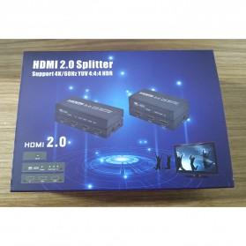 TXR HDMI Splitter 1 Input 4 Output 4K - AYS-12V20 - Black - 7