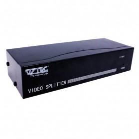 VZTEC VGA 1 X 8 Splitter w/ Audio Model (VZ-VG2235) - Black