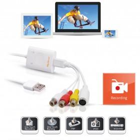 MyGica iGrabber Live USB Video Capture for Mac & PC - White - 2