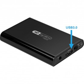 MyGica HD Cap Video Capture Card Adapter USB 3.0 - U800 II - Black - 3